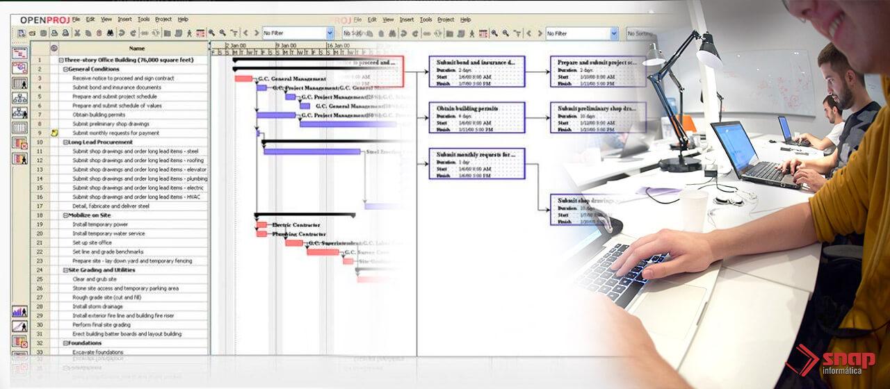 Programa de workflow para advogados